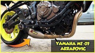 HA CAMBIATO VOCE! - Yamaha MT 07 2018 Akrapovic Full System