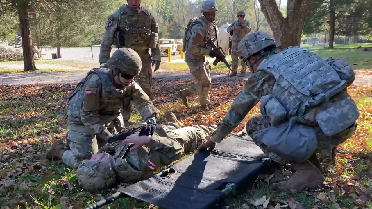 US Army • Tactical Combat Casualty Care Training • Fort Knox, Kentucky
