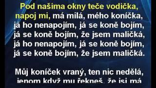 Pod našima okny - směs polek (EV) - Veselka Karaoke tip