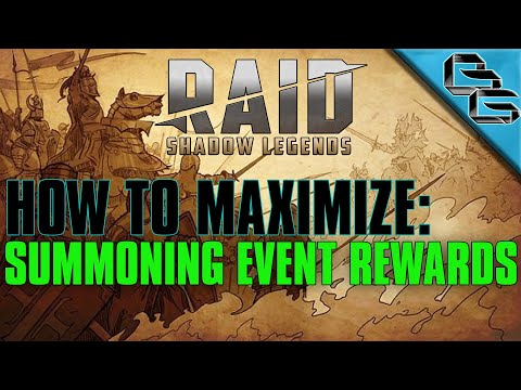 RAID: Shadow Legends | How to maximize Summoning Event rewards !! | F2P