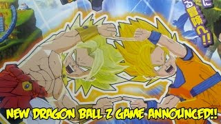 NEW 2016 DBZ GAME ANNOUNCED: Dragon Ball Fusions for the 3DS! Goku & Broly Fuse!?