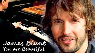 James Blunt - You are Beautiful...Its true (piano cover)