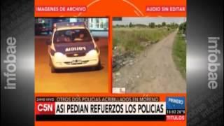Audio policías Moreno