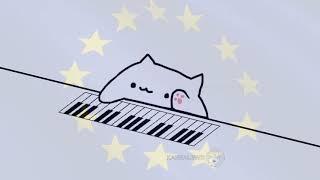 Bongo Cat Plays The EU Anthem