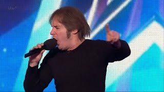 Britain's Got Talent 2015 S09E07 Andrew Fleming Awesome Comedic Singing Impersonator