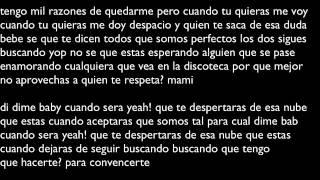Jory  - Dime Baby  ( LETRA )