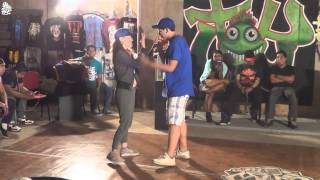 6to MUS/ MCs 1vs1/ Cuartos/ Flor Margarine vs MC Minos