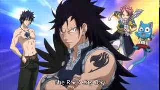 Fairy Tail OP 8 [The Rock City Boy] with lyrics