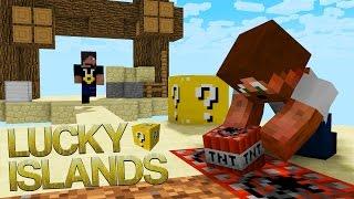 GÖMMER TNT! | Lucky Islands på Cubecraft