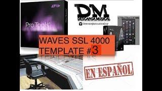 SSL 4000 Template Pro Tools Español #3