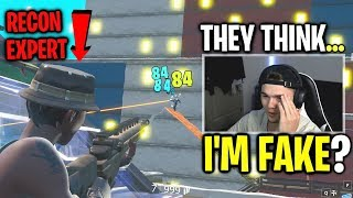 I joined random ZONE WARS with RECON EXPERT... (CRAZY REACTIONS)
