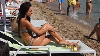 Edita Aradinovic iz Ministarki na plaži
