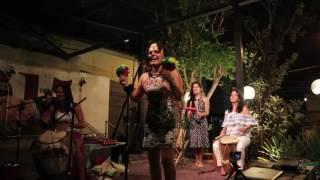 Apresentação de Orito Cantora, Jenn del Tambó, Diana Restrepo e Naiara Armendáriz