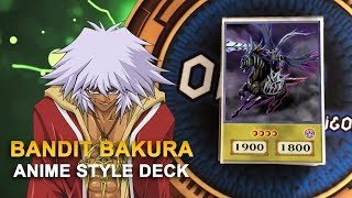 Yu-Gi-Oh! Bandit King Bakura - King of Thieves Anime Style Orica Deck |  Yugiohoricasofficial.com