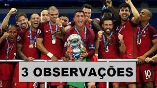 Portugal Campeão da Eurocopa 2016 - 3 Observações (O País pobre da Europa)