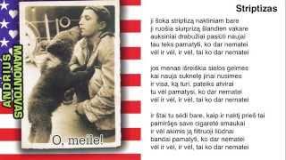 Andrius Mamontovas - Striptizas