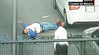 In fraganti: policía dispara a delincuente y evita asalto
