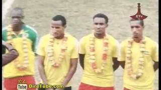 Ethiopian National Football Team back to Addis Ababa after beating Benin