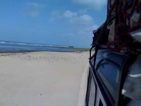 4×4 Sand Driving Beach Western Sahara Morocco