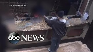 New surveillance video released in Bellagio casino heist