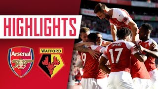 Highlights - Arsenal 2-0 Watford