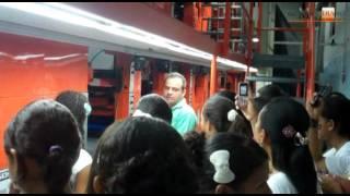 Colegios de Tolú y Tierralta de visita en ¡Mi periódico!