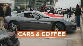 Cars And Coffee at Dallas