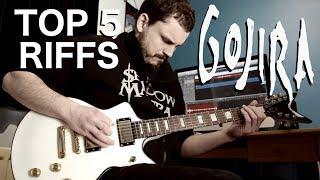 Top 5 Riffs - Gojira [HQ]