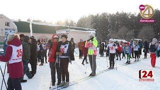Более 100 школьников встали на лыжи