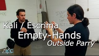 How to Counter the Straight Punch - Eskrima, Arnis, Kali
