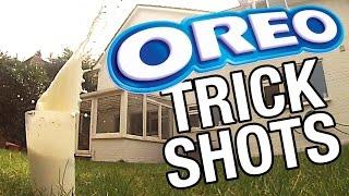 Oreo + Lapte + Mult timp liber = Oreo trick shots