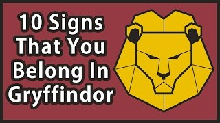10 Signs That You Belong In Gryffindor | Harry Potter House Quiz
