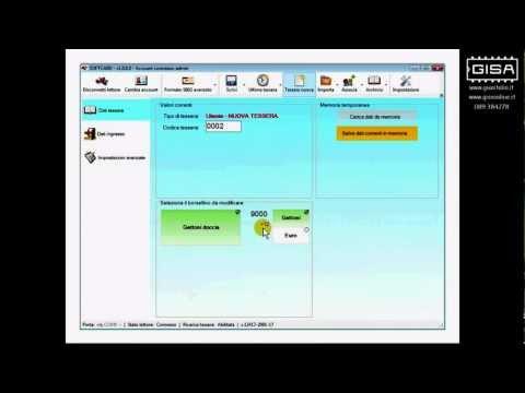 SOFTCARD - Impostare il credito di una tessera ovale