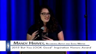 Mandy Harvey: IDA Inspiration Award Recipient