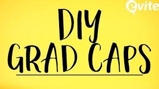DIY Grad Caps   Craft Idea for Graduation 2017