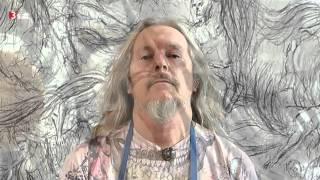 Wolfgang Beltracchi porträtiert Christoph Waltz
