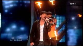 Finland - Final - Eurovision 2009 (HD)