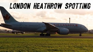 London Heathrow Spotting ✈ 14-01-2016