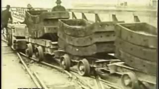 Building The Brooklyn Bridge New York, 1920s - Film 33827