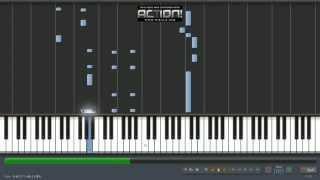 Enrique Iglesias - Bailando (Español) ft. Descemer Bueno, Gente De Zona piano tutorial Synthesia