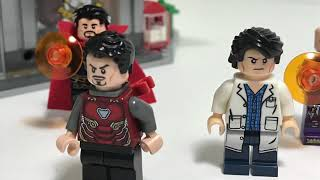 Lego avengers infinity war iron man suit up stop motion ver.2 (New York Battle)