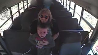 Watch Bus Driver Save A 5-Year-Old Boy's Life After Choking On Penny