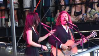 The Civil Wars - Sour Times - Portishead cover Live at Austin City Limits 2012