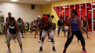 ZUMBA dance to MAKE IT SHAKE by Machel Montano feat. Bust Rhymes, Olivia, & Fat Man Scoop