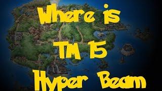 Where Is: TM 15 - Hyper Beam (Pokemon Sapphire/Ruby/Emerald)