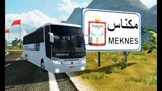 أخرإصدارمود خريطة الدول العربية �ي لعبة Euro Truck Simulator 2