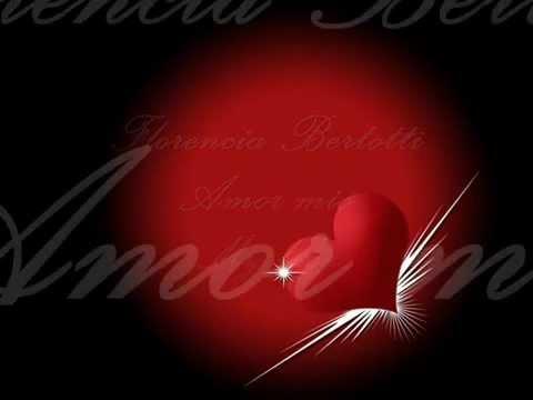 Amor Mio En Ingles de Florencia Bertotti Letra y Video