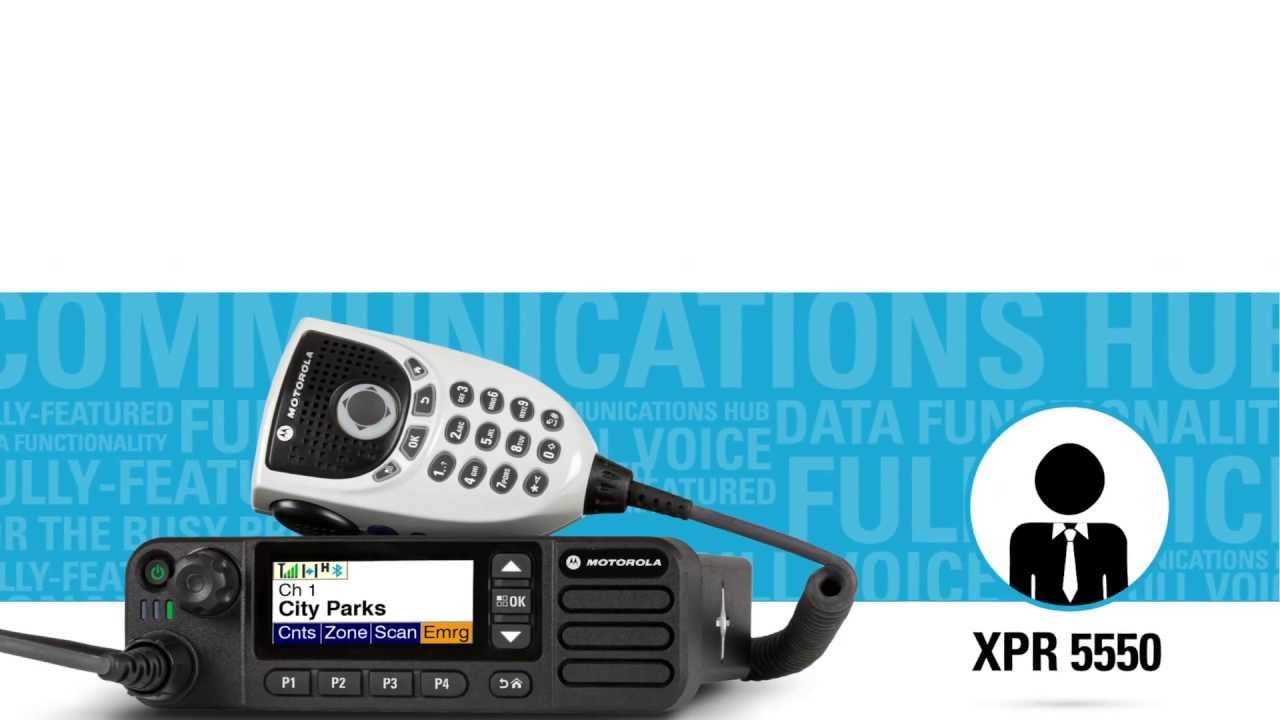 MOTOTRBO: Keep Shoppers Safe with the right Motorola Two-Way Radio