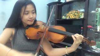 Happy Birthday - Violin Cover by Thuy Linh