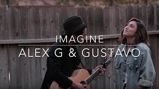 Imagine (Spanish & English Version) - John Lennon (Alex G & Gustavo Cover) (Lyrics)